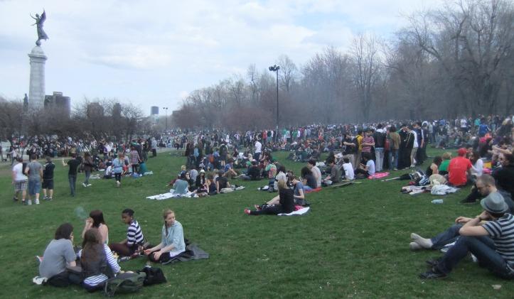 Cannabis Day at Montreal