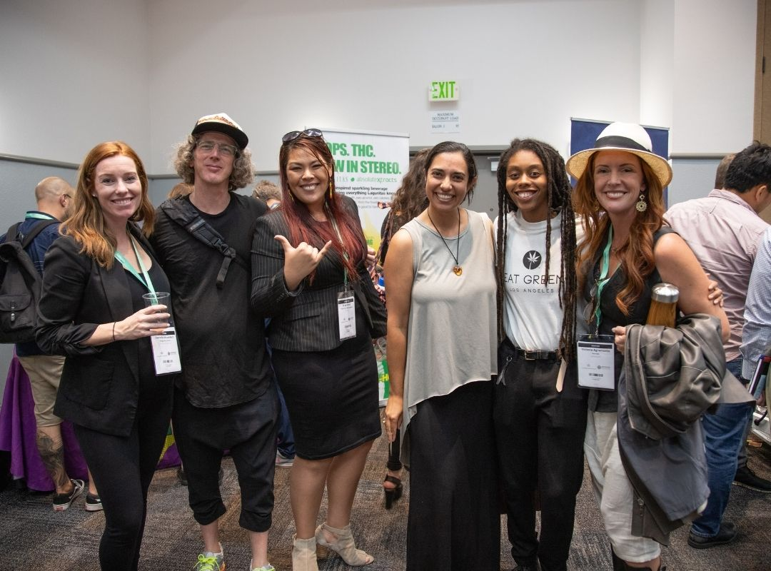 Cannabis Drinks Expo Visitors