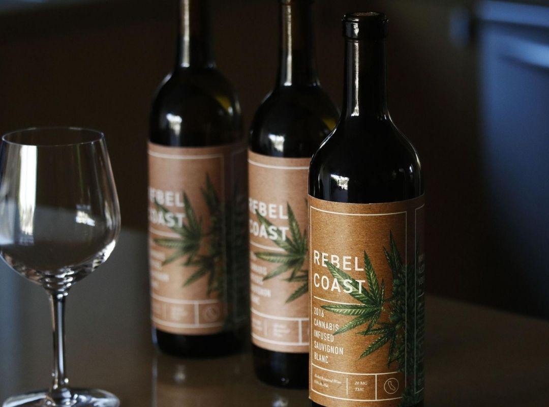 Rebel Coast Cannabis-Infused Sauvignon Blanc