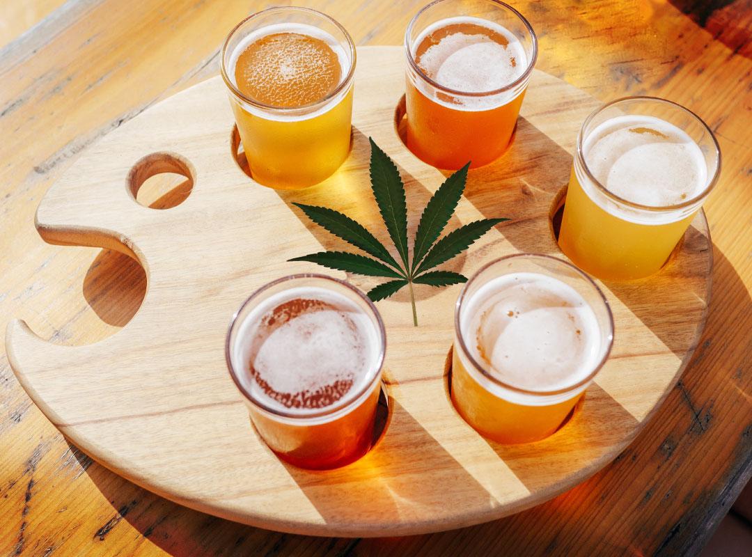 Cannabis Infused Beer