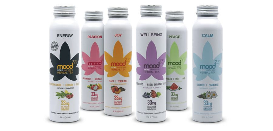 Photo for: mood33™ Cannabis Infused Sparkling Tonic & Hemp Infused Herbal Tea