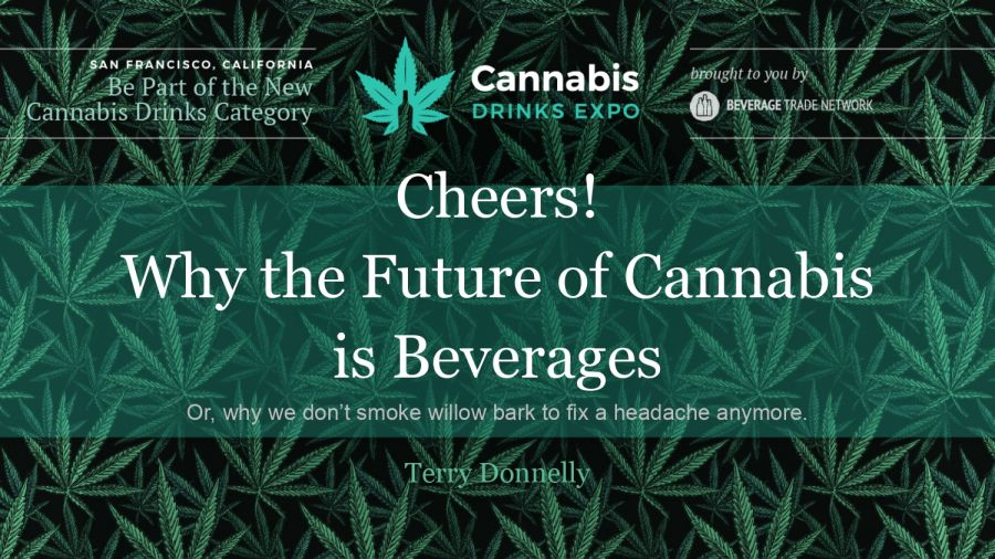 Photo for: Why the future of Cannabis is Beverage