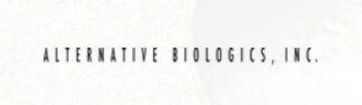 Logo for:  Alternative Biologics Inc
