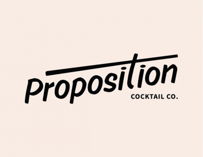 Logo for:  Proposition Cocktail Co.